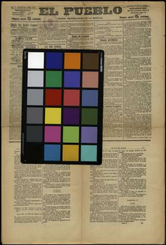 Carta de color - Color checker
