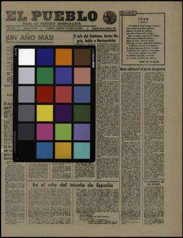 Carta de color - 1939