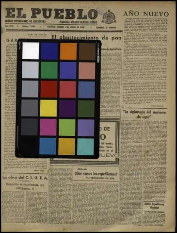 Carta de color - 1937